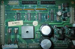 View a high resolution image of the D10413 gun interface board