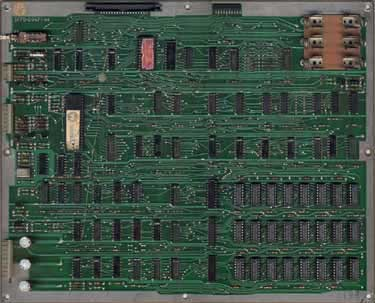 View a high resolution image of the D8356 (early series) Defender CPU Board
