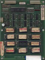 View a high resolution image of the (later series) Defender ROM board