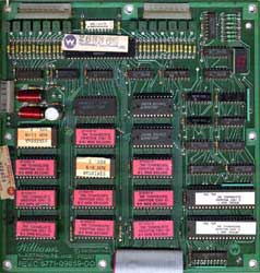 View a high resolution image of the D9176 ROM board